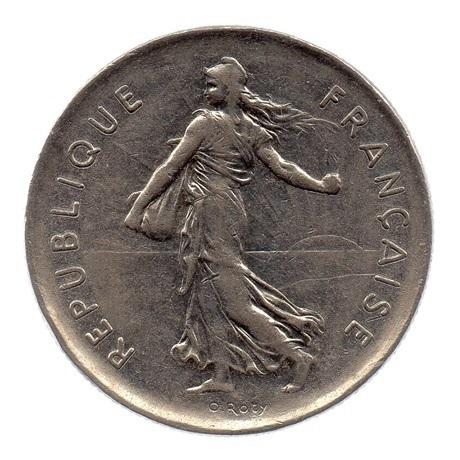 (FMO.5.1971.51.2.ttb.000000004) 5 Francs Semeuse 1971 Avers