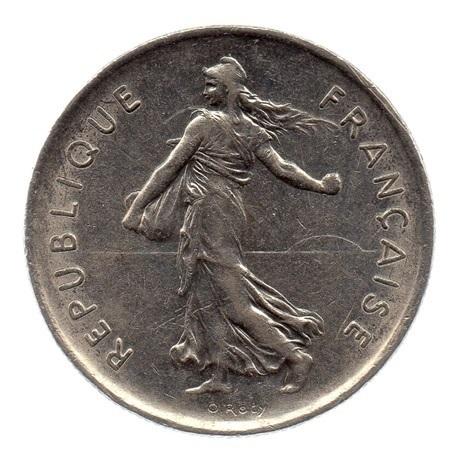 (FMO.5.1971.51.2.ttb.000000005) 5 Francs Semeuse 1971 Avers