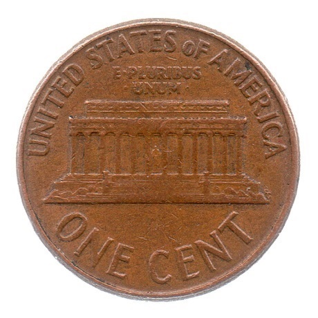 (W071.001.1961_D.1.1.ttb.000000001) 1 cent Lincoln 1961 D Revers