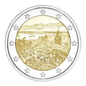 2 euro commémorative Finlande 2018 - Parc national de Koli Avers