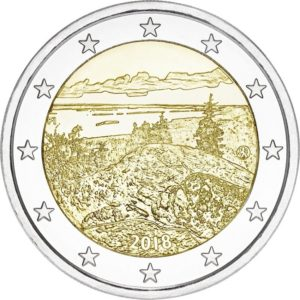 2 euro commemorative coin Finland 2018 - Koli National Park Obverse (zoom)
