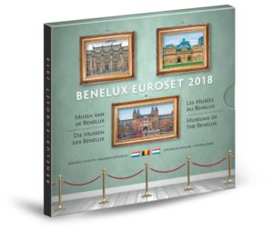 Brilliant Uncirculated coin set Benelux 2018 (zoom)