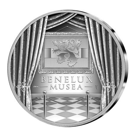 Coffret BU Benelux 2018 (revers médaille)