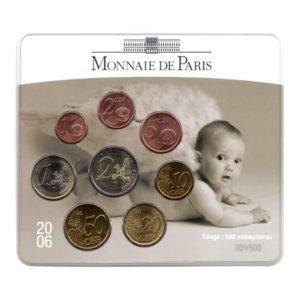 (EUR07.CofBU&FDC.2006.M-S4.cp5.301) Mini-set BU France 2006 - Naissance (2 sur 2) Recto