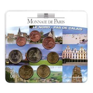 (EUR07.CofBU&FDC.2006.M-S5.cp5.028) Mini-set BU France 2006 - Nord-Pas-de-Calais Recto