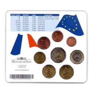 (EUR07.CofBU&FDC.2006.M-S5.cp5.028) Mini-set BU France 2006 - Nord-Pas-de-Calais Verso
