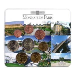 (EUR07.CofBU&FDC.2006.M-S9.cp5.351) Mini-set BU France 2006 - Ile de France Recto