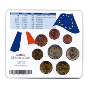 (EUR07.CofBU&FDC.2006.M-S9.cp5.351) Mini-set BU France 2006 - Ile de France Verso