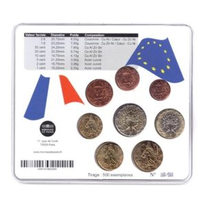 (EUR07.CofBU&FDC.2011.M-S2.160) Mini-set BU France 2011 - Naissance fille Verso