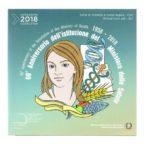 (EUR10.CofBU&FDC.2018.Cof-BU.000000002) Coffret BU Italie 2018 (Ministère de la Santé) Recto