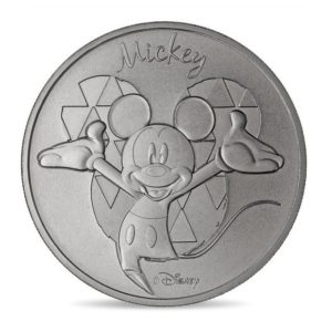 (FMED.Méd.souv.n.d._2018_.CuNi1) Memory token - Mickey Mouse Obverse (zoom)