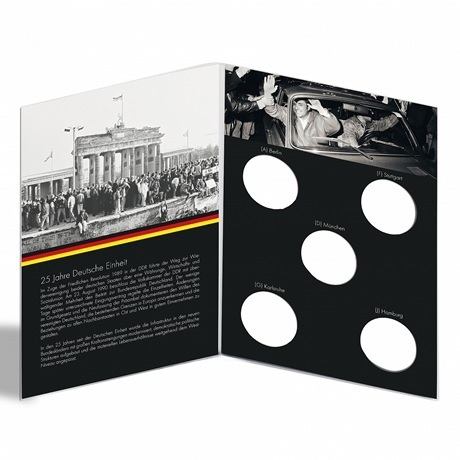 (MAT01.Alb&feu.Alb.346732) Album collector Leuchtturm - Réunification allemande (intérieur)