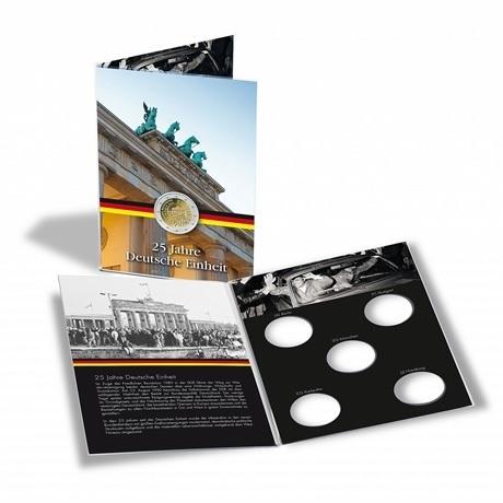 (MAT01.Alb&feu.Alb.346732) Album collector Leuchtturm - Réunification allemande (ouvert)