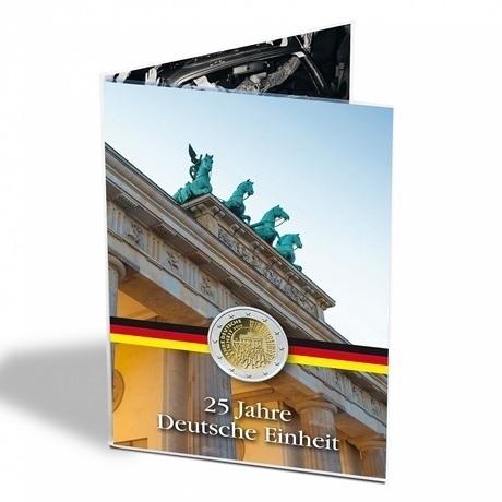 (MAT01.Alb&feu.Alb.346732) Album collector Leuchtturm - Réunification allemande