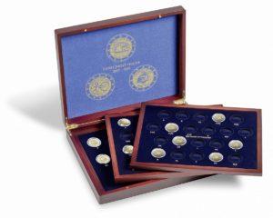 (MAT01.Cofméd&écr.Cof.341810) 2 euro commemorative coins 2007, 2009 & 2012 (inside) (zoom)