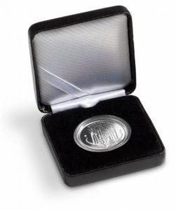 (MAT01.Cofméd&écr.Ecr.358068) Numismatic case Leuchtturm - German 20 euro coin (open) (zoom)