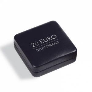 (MAT01.Cofméd&écr.Ecr.358068) Numismatic case Leuchtturm - German 20 euro coin (zoom)