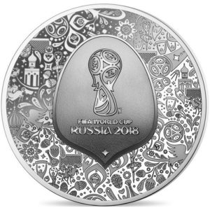 10 euro France 2018 Proof silver - FIFA World Cup, Russia 2018 Obverse (zoom)