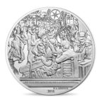 10 euro France 2018 argent BE - Bal du moulin de la Galette Revers