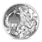 10 euro France 2018 argent BE - Coupe du monde de football Revers