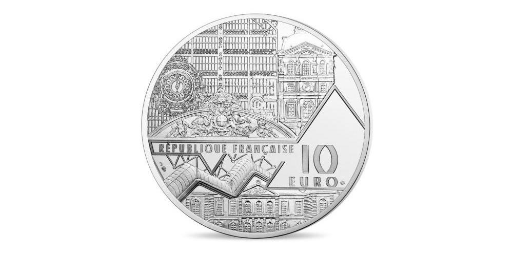 (EUR07.ComBU&BE.2018.10041317860000) 10 euro France 2018 Proof Ag - Bal moulin Galette Obverse (zoom)