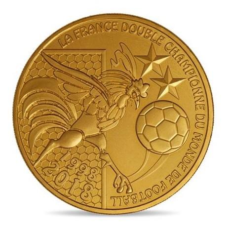 (FMED.Méd.souv.2018.10011331630000) Jeton souvenir - Coupe du monde de football Avers