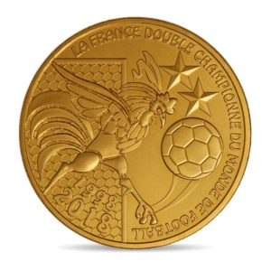 (FMED.Méd.souv.2018.CuAlNi1) Memory token - FIFA World Cup, Russia 2018 Obverse (zoom)
