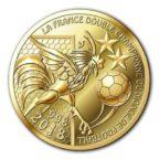 (FMED.Méd.souv.2018.CuAlNi1.spl) Jeton souvenir - Coupe du monde de football Avers