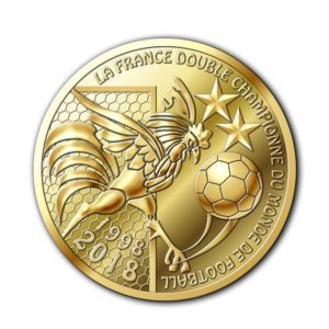 (FMED.Méd.souv.2018.CuAlNi1.spl) Memory token - FIFA World Cup, Russia 2018 Obverse (zoom)