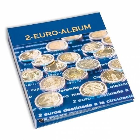 (MAT01.Alb&feu.Alb.354425) Album Leuchtturm NUMIS Tome 6 - 2 euro commémoratives