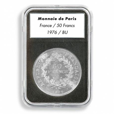 (MAT01.Rangindiv.Caps.342037) Capsule Leuchtturm EVERSLAB (utilisée pour 50 Francs Hercule 1976)
