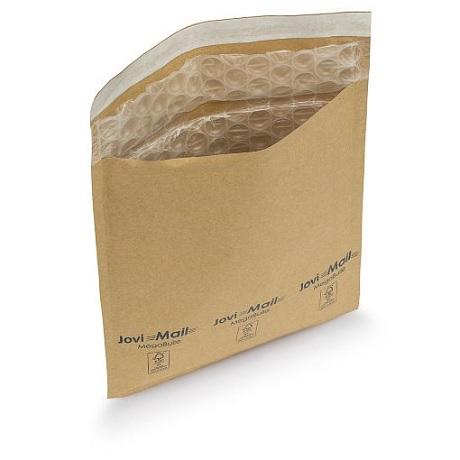 (MATRj.Parcels.Env.PMBK46.100) Pochettes kraft bulles brunes MEGABULLE 46,00 cm x 43,00 cm (x100)