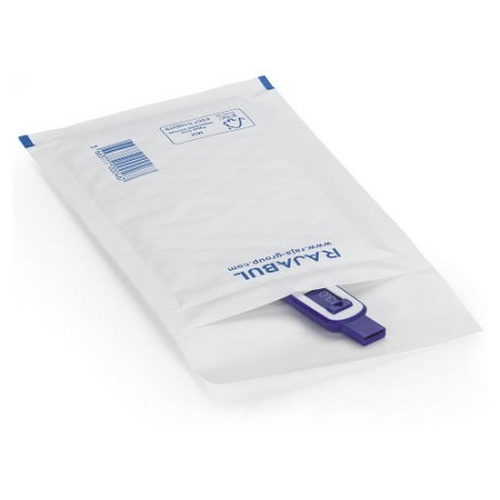 (MATRj.Parcels.Env.PMBL00C.100) Pochettes papier bulles blanches RAJABUL Eco (exemple d'utilisation 1)