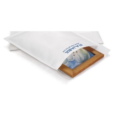 (MATRj.Parcels.Env.PMBL5C.100) Pochettes papier bulles blanches RAJABUL Eco (exemple d'utilisation 3)