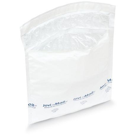 (MATRj.Parcels.Env.PMBP35.100) Pochettes plastique bulles blanches MEGABULLE 35,00 cm x 43,00 cm (x100)