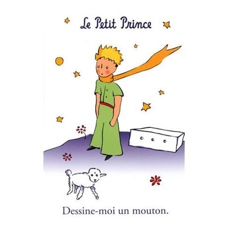 (POSTC07.10081315220000) Le Petit Prince et le Mouton