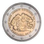 2 euro commémorative Portugal 2018 - Jardin botanique d'Ajuda Avers