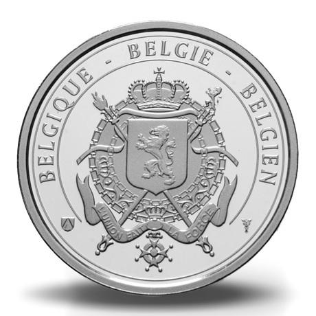 Coffret BU Belgique 2018 (revers de la médaille)