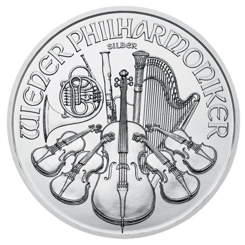 (EUR01.150.2016.21597) 1.50 euro Austria 2016 1 ounce fine silver - Philharmonic Reverse (zoom)