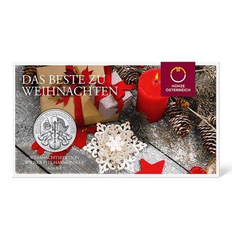 (EUR01.150.2016.21597) 1,50 euro Autriche 2016 1 oz Ag - Philharmonique (packaging)