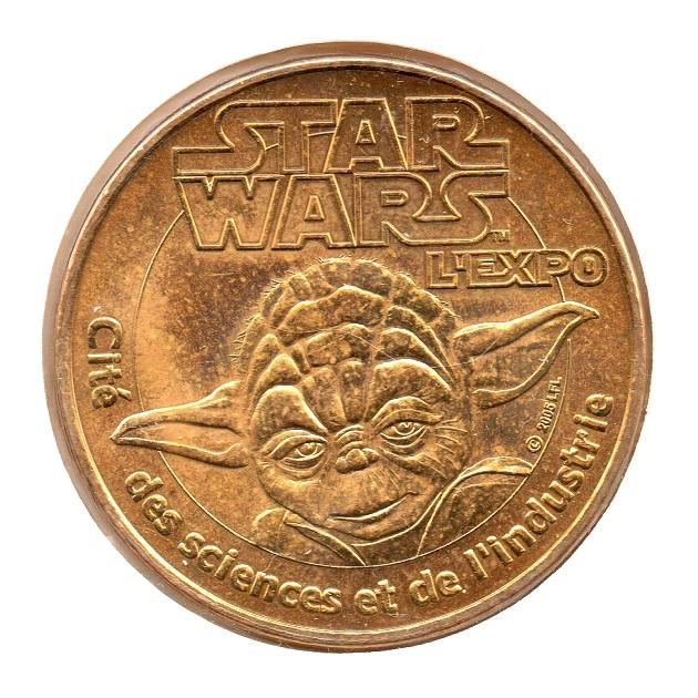 (FMED.Méd.even.2007.CuAlNi.25.sup.spl.000000001) Star Wars exhibition Obverse (zoom)
