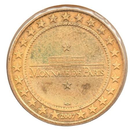 (FMED.Méd.tourist.2007.CuAlNi.1.11.ttb.plus.sup.000000001) Forteresse médiévale de Peyrepertuse Revers