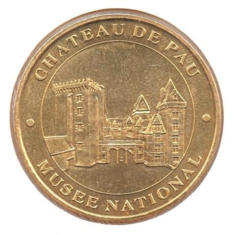 (FMED.Méd.tourist.2007.CuAlNi.1.7.1.-2.sup.spl.000000001) Château de Pau Avers