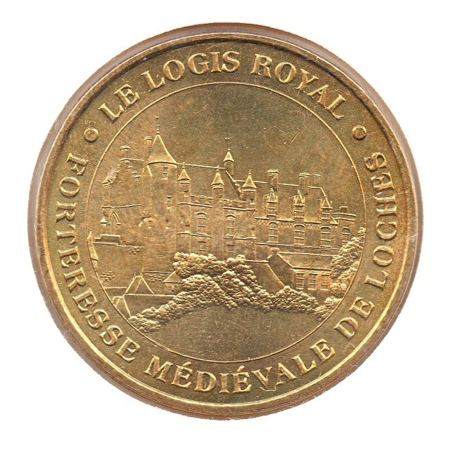 (FMED.Méd.tourist.2007.CuAlNi.1.8.sup.spl.000000001) Fortress of Loches Obverse (zoom)