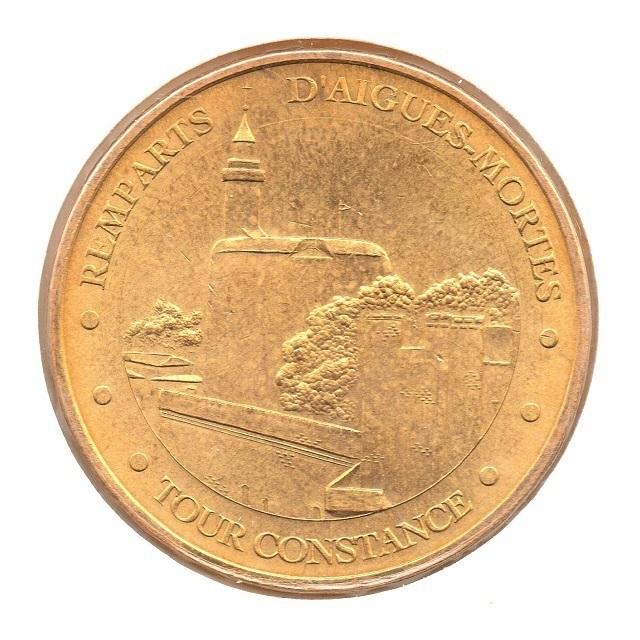 (FMED.Méd.tourist.2007.CuAlNi.12.65.sup.000000001) Ramparts of Aigues-Mortes Obverse (zoom)