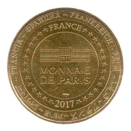 (FMED.Méd.tourist.2017.CuAlNi3.-2.spl.000000001) Jeton touristique - Mousquetaire de Richelieu Revers