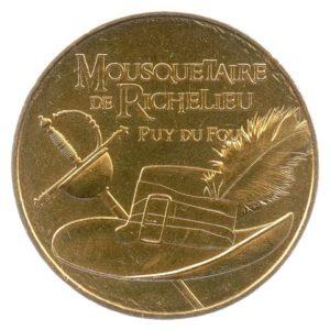 (FMED.Méd.tourist.2017.CuAlNi3.-2.spl.000000001) Mousquetaire de Richelieu Obverse (zoom)
