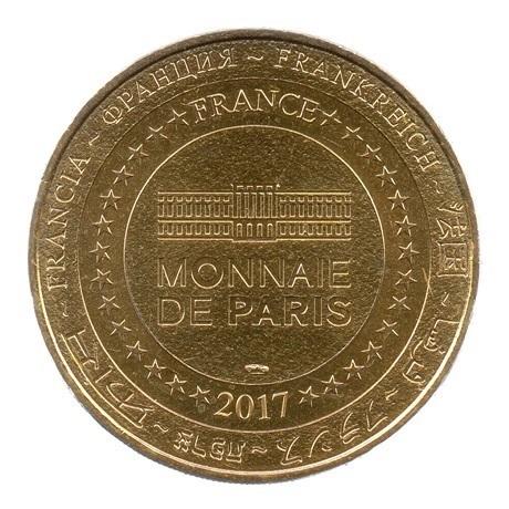 (FMED.Méd.tourist.2017.CuAlNi3.1.1.spl.000000001) Jeton touristique - Puy du Fou Revers