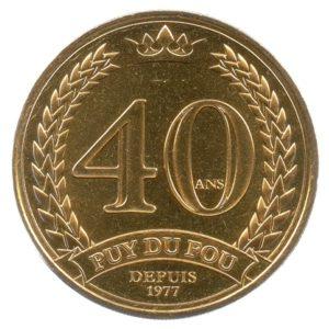 (FMED.Méd.tourist.2017.CuAlNi3.1.1.spl.000000001) Tourism token - Puy du Fou Obverse (zoom)