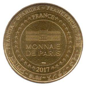 (FMED.Méd.tourist.2017.CuAlNi3.1.1.spl.000000001) Tourism token - Puy du Fou Reverse (zoom)